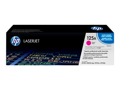 HP 125A - magenta - original - LaserJet - toner cartridge (CB543A)