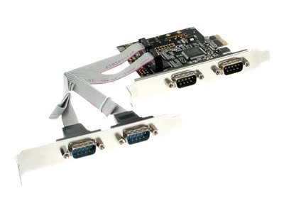 InLine - Serieller Adapter - PCIe - RS-232