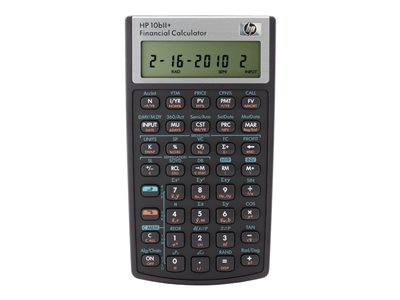 HP 10bII+ Financial calculator 12 digits battery