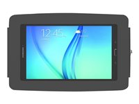 """Compulocks Space Galaxy Tab E 8"""" Enclosure Wall Mount Black - Mounting component (enclosure) for tablet"""