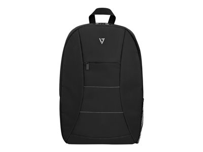 "V7 Essential - Notebook carrying backpack - 16"" - black"