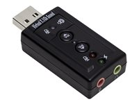Syba SD-CM-UAUD71 Sound card stereo USB 2.0