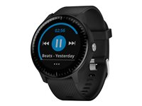 Garmin vívoactive 3 Music Black smart watch with band silicone black band size 5 in