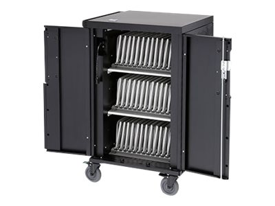 Bretford CoreX Charging Cart - Cart (charge only) - for 24 tablets / notebooks - screen size: up to 17