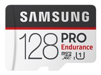 Samsung PRO Endurance MB-MJ128GA - Flash memory card (microSDXC to SD adapter included)