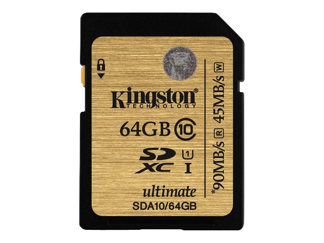 Kingston Ultimate - Flash-Speicherkarte - 64 GB - UHS Class 1 / Class10 - 300x - SDXC