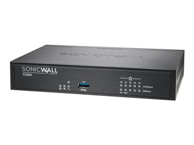SonicWall TZ300 - security appliance - SonicWALL Gen5 Firewall Replacement  - with 1 year SonicWALL Advanced Gateway Security Suite