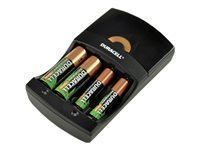 Picture of Duracell Hi-Speed Charger battery charger - 2 x AA type (CEF14UK)