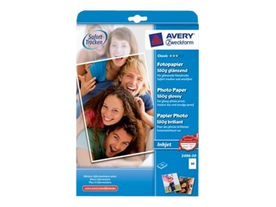 Avery Zweckform Classic Photo Paper Glossy 2496-50 - fotopapir - 50 ark