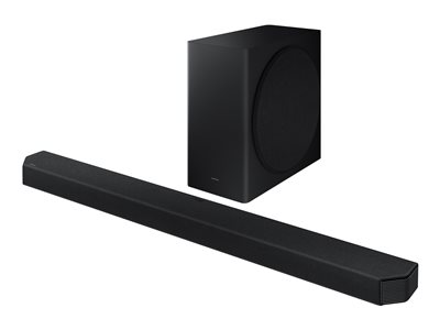 Samsung HW-Q900A - sound bar system - for home theater - wireless
