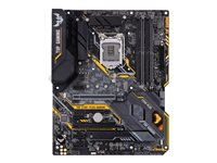 ASUS TUF Z390-PLUS GAMING - Carte-mère - ATX - Socket LGA1151 - Z390 - USB 3.1 Gen 1, USB 3.1 Gen 2 - Gigabit LAN - carte graphique embarquée (unité centrale requise) - audio HD (8 canaux)