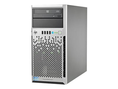 HPE ProLiant ML310e Gen8 Server tower 4U 1-way 1 x Xeon E3-1220V2 / 3.1 GHz RAM 4 GB