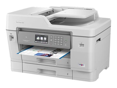 Brother MFC-J6945DW - Multifunction printer - colour - ink-jet - A3/Ledger (297 x 432 mm) (original) - A3/Ledger (media) - up to 15 ppm (copying) - up to 35 ppm (printing) - 600 sheets - 33.6 Kbps - USB 2.0, LAN, Wi-Fi(n), USB host, NFC