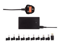 Picture of Targus Compact Laptop & USB Tablet Charger - power adapter - 90 Watt (APA042UK)