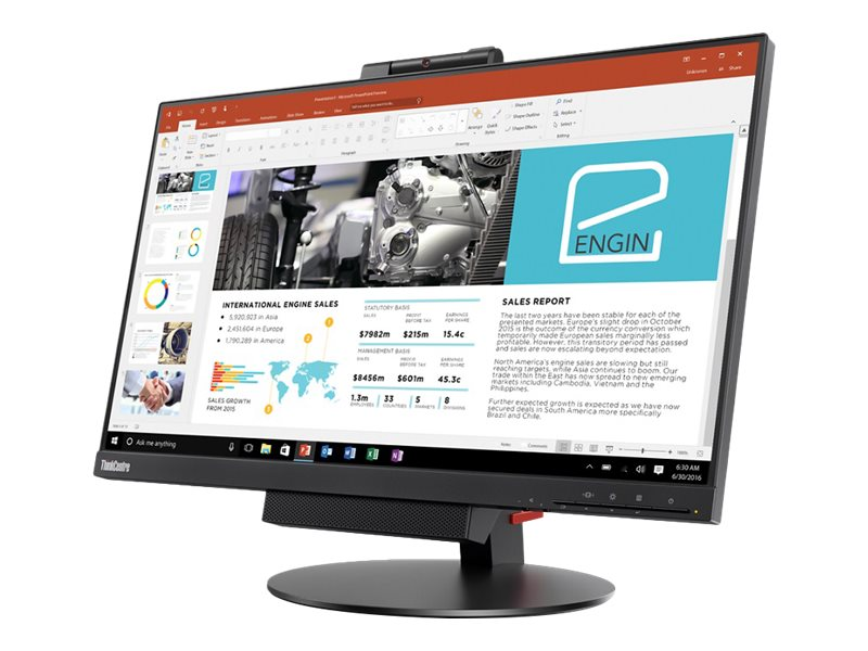 Lenovo ThinkCentre Tiny-in-One 24 - Gen 3 - LED monitor - Full HD (1080p) - 23.8""