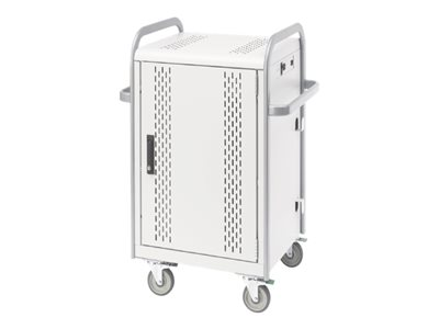 Bretford Store & Charge MDMTAB24 Cart for 24 tablets steel aluminum, concrete powder