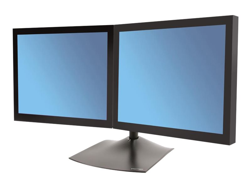 Ergotron DS100 Dual-Monitor Desk Stand, Horizontal - stand