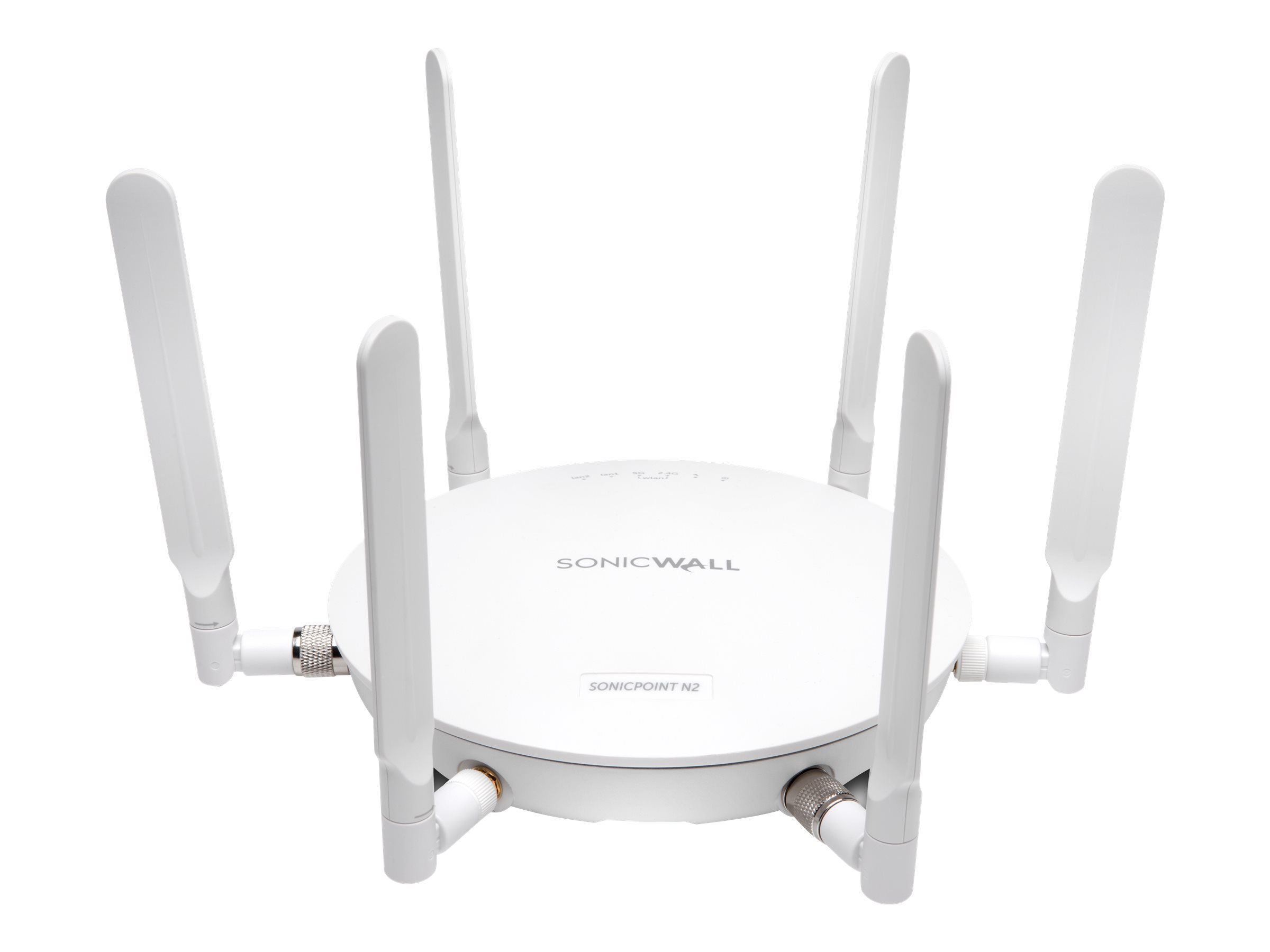 SonicWall SonicPoint N2 - Drahtlose Basisstation - mit Dynamic Support 24X7 für 3 Jahre - Wi-Fi - Dualband - mit SonicWALL 802.3at Gigabit PoE Injector