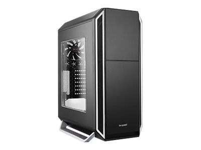 be quiet! Silent Base 800 - Window Edition - Tower - ATX - ohne Netzteil - Silber