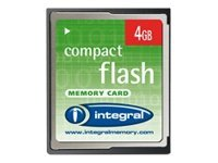 Integral - Carte mémoire flash - 4 Go - CompactFlash