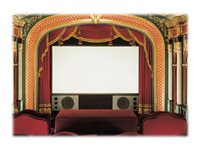 Draper Cineperm NTSC Video Format Projection screen wall mountable 90INCH (90.2 in) 4:3