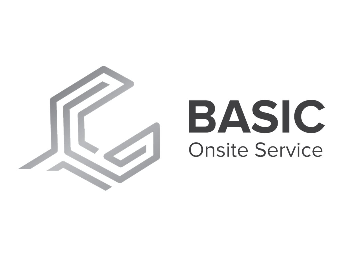 Fujitsu Basic extended service agreement - 2 years - on-site