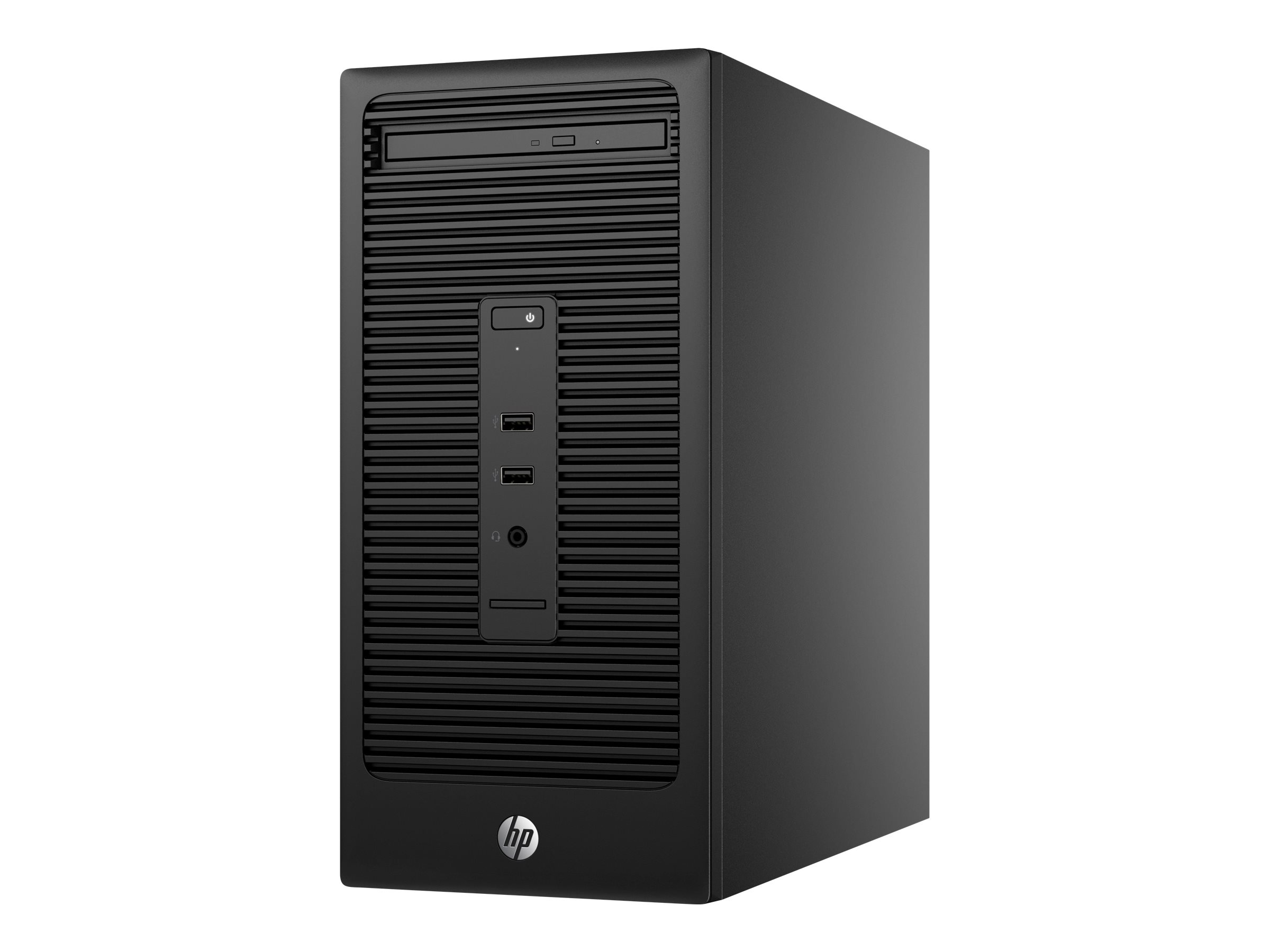 HP 285 G2 - Micro Tower - 1 x A8 PRO-7600B / 3.1 GHz - RAM 8 GB - SSD 256 GB - DVD SuperMulti