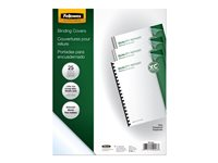 Fellowes Letter A Size (8.5 in x 11 in) 200-pack clear PVC binding cover