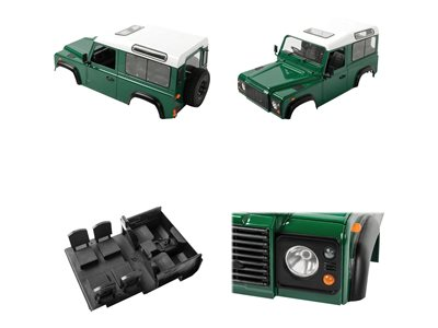 - Gelande II RTR Truck Kit w/D90 Body Set