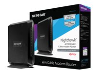 NETGEAR Nighthawk C7000 Wireless router cable mdm 4-port switch GigE 802.11a/b/g/n/ac
