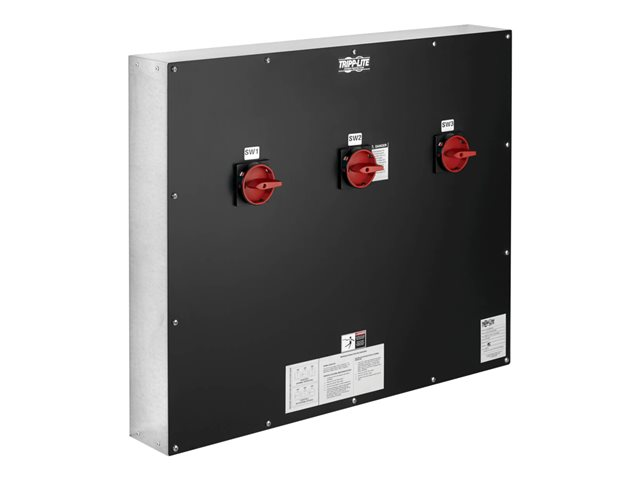 Tripp Lite UPS Maintenance Bypass Panel for Select 100KW (400V) 3-Phase UPS Systems - 3 Breakers