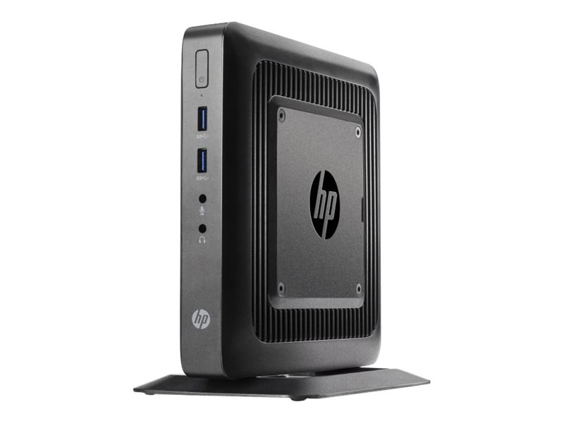 HP Flexible Thin Client t520 - Thin Client - Tower - 1 x GX-212JC 1.2 GHz - RAM 4 GB - SSD 8 GB