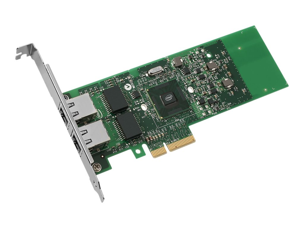 Intel Gigabit ET Dual Port Server Adapter - Netzwerkadapter - PCIe 2.0 x4 Low Profile - Gigabit Ethernet x 2