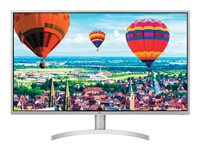 LG 32BK50Q-W LED monitor 32INCH (31.5INCH viewable) 2560 x 1440 1440p (Quad HD) IPS 300 cd/m²
