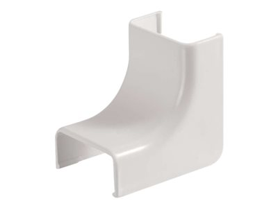 C2G Wiremold Uniduct 2800 Internal Elbow White Cable raceway inside corner white