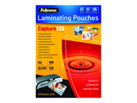 Fellowes Laminating Pouches Capture 125 micron - 100