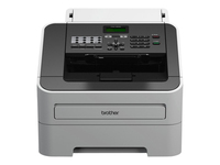 Brother FAX-2840 - Fax / copier - B/W - laser - up to 20 ppm (copying) - 250 sheets - 33.6 Kbps