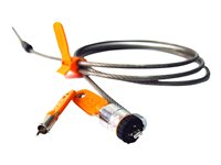KNS CABLE SEGURIDAD NOTEBOOK MICROSAVER LLAVE 1.8 MT K64068