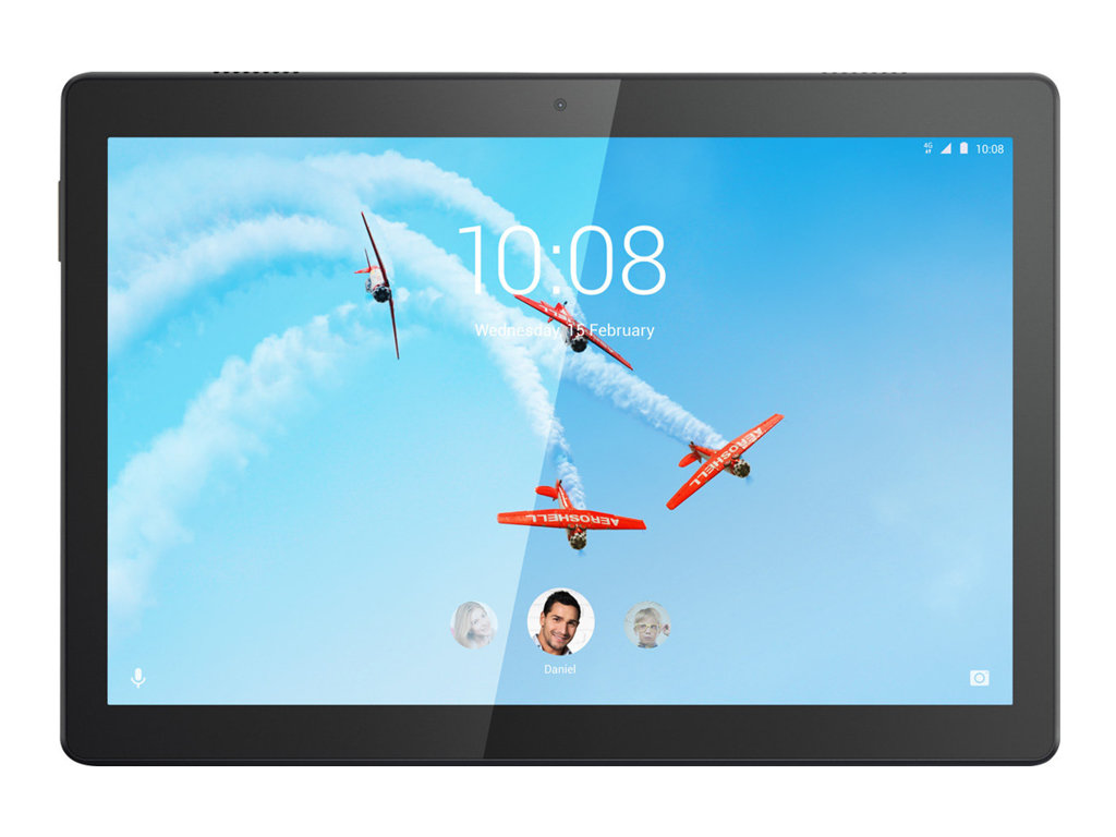 "Lenovo Smart Tab M10 ZA48 - Tablet - Android 8.0 (Oreo) - 16 GB Embedded Multi-Chip Package - 25.6 cm (10.1"") IPS (1920 x 1200) - microSD-Steckplatz"