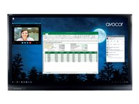 Avocor AVF-6550 65INCH Class F50 Series LED display interactive with touchscreen (multi touch)