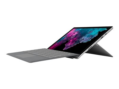 "Microsoft Surface Pro 6 - Tablet - Core i5 8350U / 1.7 GHz - Win 10 Pro - 8 GB RAM - 256 GB SSD NVMe - 12.3"" touchscreen 2736 x 1824 - UHD Graphics 620 - Wi-Fi, Bluetooth - platinum - commercial"