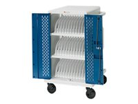 Bretford Core M CORE24MS With rear doors cart (charge only) for 42 tablets / notebooks