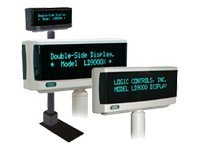 Logic Controls LD9900UP Customer display 900 cd/m² USB gray USB