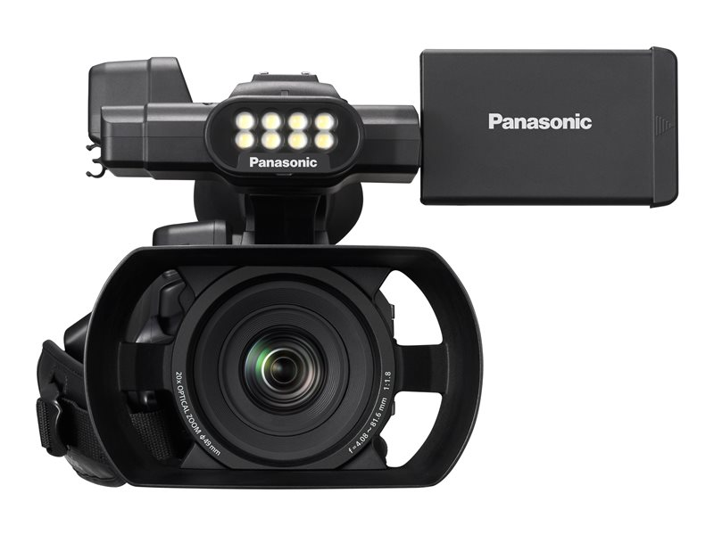 Panasonic AG-AC30EJ - caméscope - stockage : carte Flash