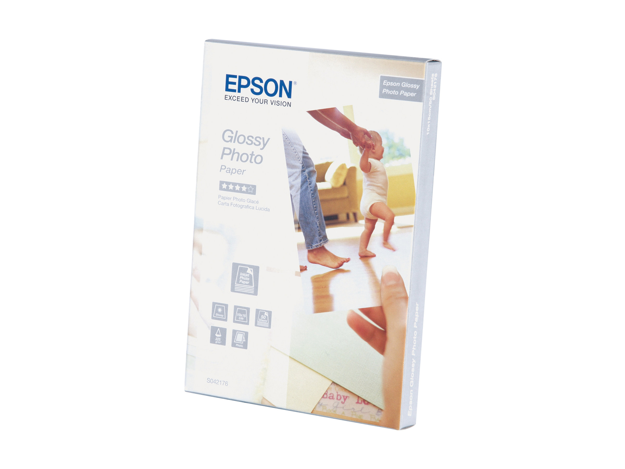 Epson Glossy Photo Paper - papier photo - 20 feuille(s)