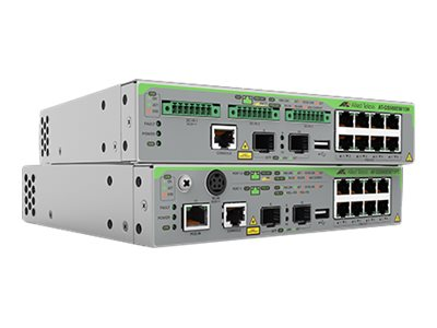 Allied Telesis CentreCOM AT-GS980EM/11PT - switch - 8 ports - managed - rack-mountable
