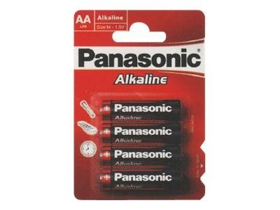 Panasonic Alkaline Power LR6AP/4BP - Batterie 4 x AA Alkalisch