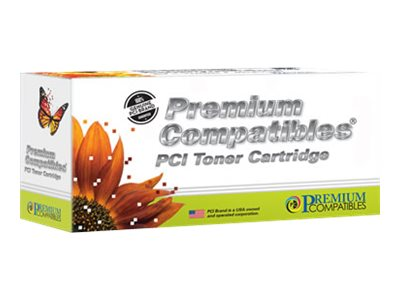 Premium Compatibles - cyan - compatible - toner cartridge