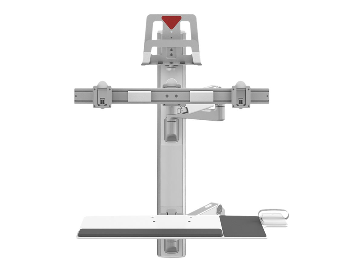 Humanscale ViewPoint Technology Wall Station V6 - mounting kit - for 2 LCD displays / keyboard / mouse / CPU