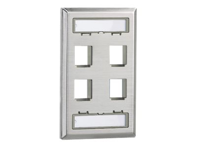 Panduit NetKey faceplate